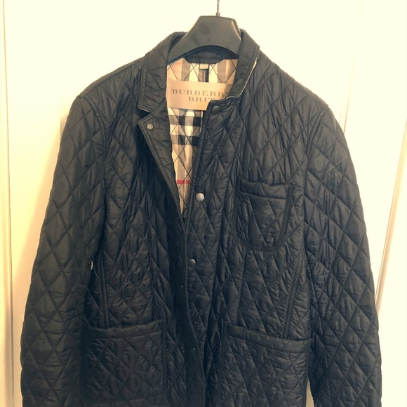 Burberry Brit Howe Quilted Jacket Men's Size XL